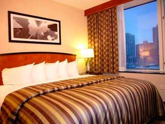 Guest Room for Embassy Suites Chicago